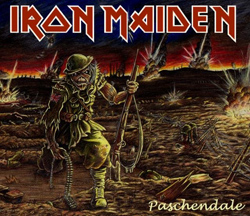 Iron Maidens cover til Paschendale