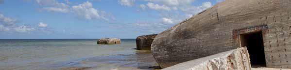En bunker i vand