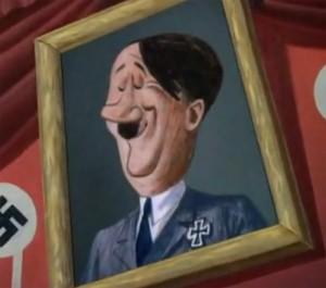 Disney - Hitler portræt