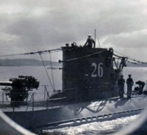U-26 vender hjem