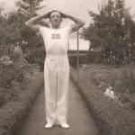 Sture Norell deltagelse ved OL i Berlin i 1936.
