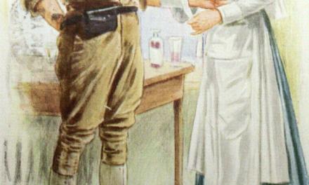 Sygeplejerskens tøj under 1. Verdenskrig