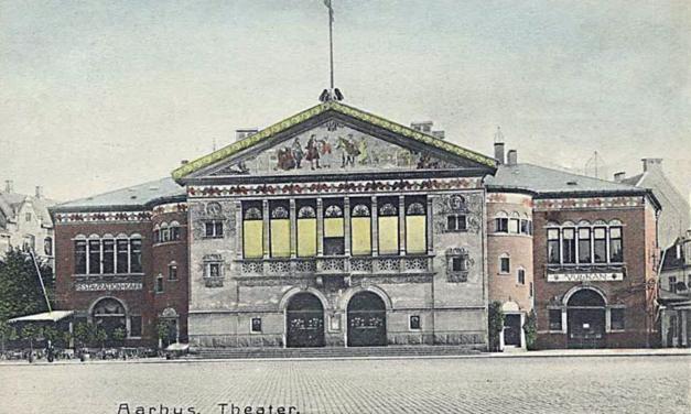 nazisterne bombede Aarhus Teater